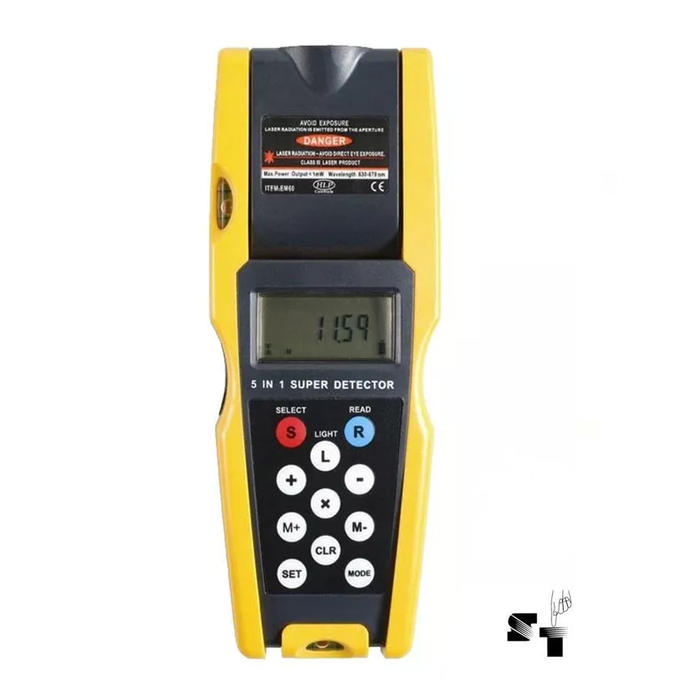 Sisteco web medidor de distancia laser detector for Medidor de distancia laser